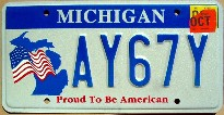 michigan 2003 proud to be american