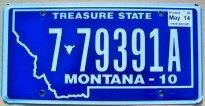 montana 2014 treasure state