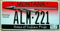 montana 2010 browning schools