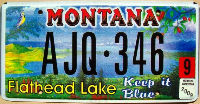 montana 2009 flathead lake