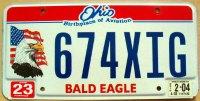 ohio 2004 bald eagle
