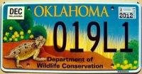 oklahoma 2012 wildlife horned toad