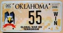 oklahoma 2008 global war on terrorism