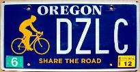 oregon 2012 share the road