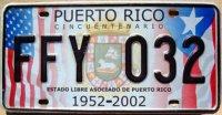 puerto-rico cinquantenaire