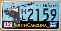 south carolina 2007 H.L Hunley