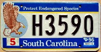 south carolina 1996 eagle