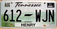 tennessee 2011 volunteer state