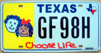 texas choose life