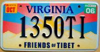virginia 2006 friends of Tibet