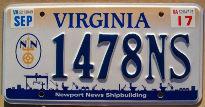 virginia 2017 newport news shipbuilding