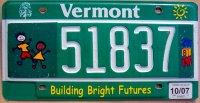 vermont 2007 building bright futures